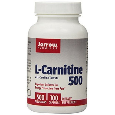 Jarrow Formulas L-Carnitine Tartrate, 500mg 100 Capsules