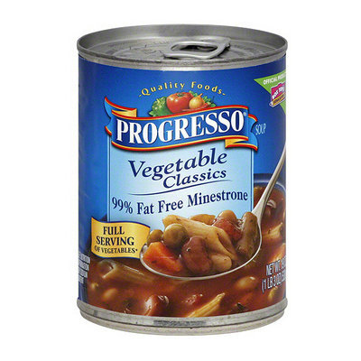 Progresso Minestrone Soup