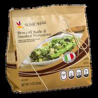 Ahold World Menu Broccoli Rabe & Smoked Provolone