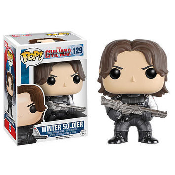 Funko Pop! Marvel: Captain America 3 Civil War Action Figure - Winter Soldier