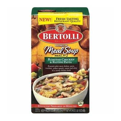 Bertolli Frozen Bertolli Meals For 2 Roasted Chicken & Rotini Pasta Meal Soup