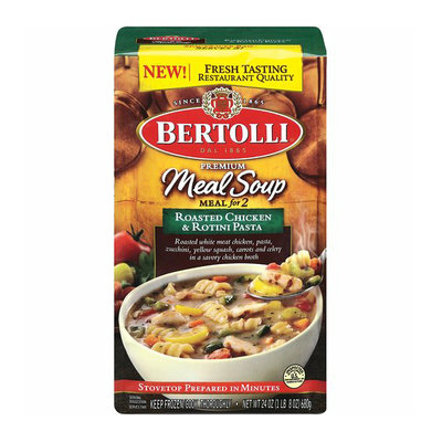 Bertolli Frozen Bertolli Meals For 2 Roasted Chicken & Rotini Pasta Meal Soup