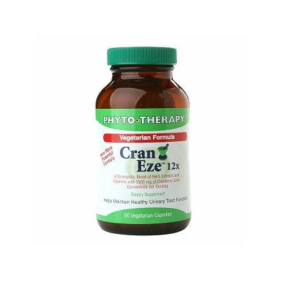 PHYTO-THERAPY Cran Eze 12x Vegetarian Formula