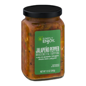 Simply Enjoy Jalapeno Pepper  Bruschetta Topping