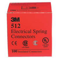 3M 512 Ranger Wire Connectors-20-8 RED WIRE CONNECTOR