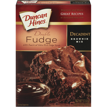 Duncan Hines : Chocolate Lover's Double Fudge Brownies