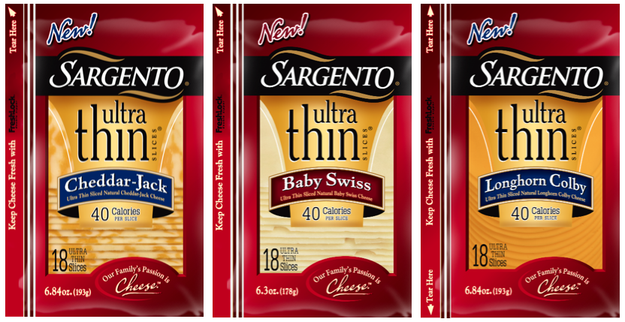 Sargento® Ultra Thin Sliced Cheese
