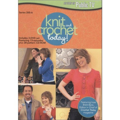 Knit and Crochet Today!: Series 200-A (4 Discs) (DVD/CD-ROM)