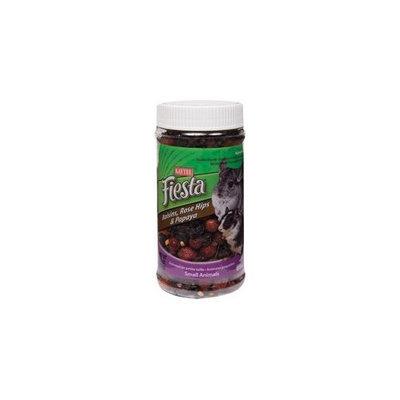 Kaytee Pet Products SKT100503062 Fiesta Raisins Rose Hips and Papaya Small Animal Treat Jar, 7.5-Ounce