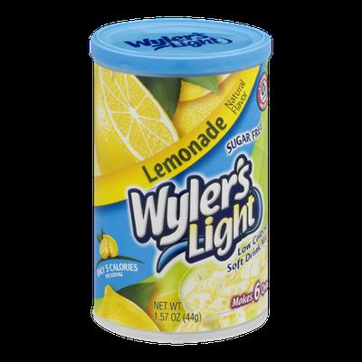 Wyler's Light Sugar Free Low Calorie Soft Drink Lemonade