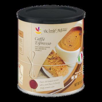 Ahold World Menu Caffe Espresso