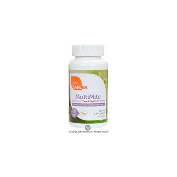 Zahlers MultiMite High Potency Twice-A-Day Multi Vitamin & Mineral - 120 Capsules