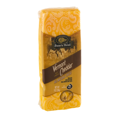 Boar's Head Vermont Cheddar All Natural Cheese