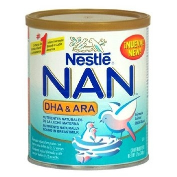 NAN Milk-Based Infant Formula, DHA & ARA 12 oz (340g)