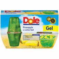 Dole Fruit Bowls: In Lime Gel 4.3 Oz Cup Pineapple