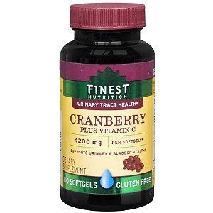Finest Nutrition Cranberry Plus Vit C Softgels 100s