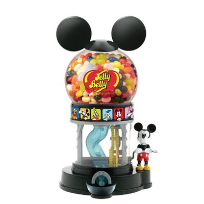 Jelly Belly Disney Mickey Mouse Bean Machine w/1oz JB Beans, 1 ea