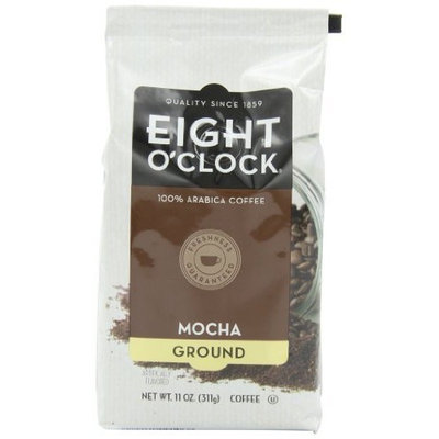 Eight O'Clock Coffee, Mocha Ground, 11-Ounce Bags (Pack of 6)