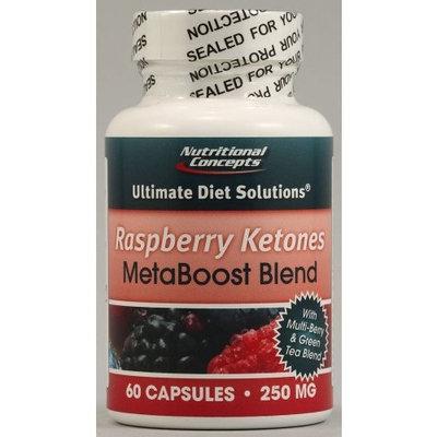 Nutritional Concepts Raspberry Ketones MetaBoost Blend - 60 Capsules