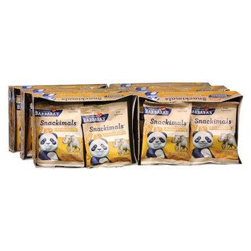Barbara's Bakery Snackimals Animal Cookies Snickerdoodles,6-6 Packs