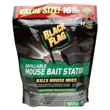 Black Flag Refillable Mouse Bait Station, 1 ct