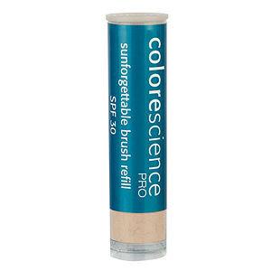 Colorescience SPF 30 Brush Refill Sunforgettable Mineral Powder Sun Protection