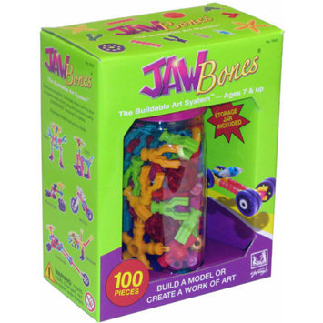 BE Good Company Jawbones Construction Toy 100 Piece Set Ages 6+