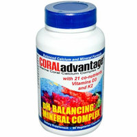 Advanced Nutritional Innovations Coral Advantage 90 Vegetable Capsules