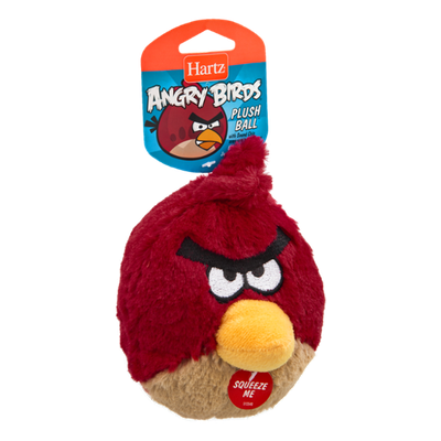 Hartz Angry Birds Plush Ball Dog Toy