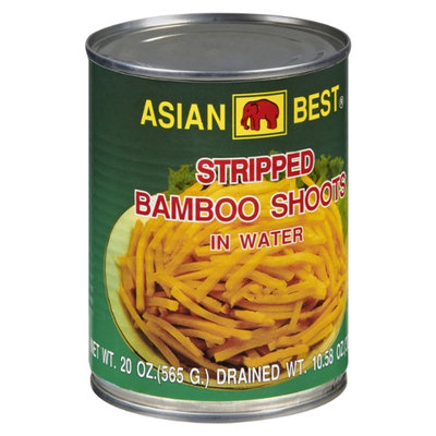 Asian Best Stipped Bamboo Shoots in Water