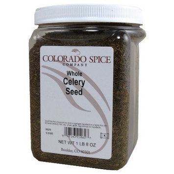 Colorado Spice Celery Seed, Whole, 24-Ounce Jars (Pack of 2)