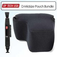 OpTech Soft Pouch D Med BK Kit With Lenspen LP1 Lens Cleaning Pen