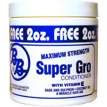 DDI Bronner Brothers Super Gro Maximum Strength Conditioner- Case of 12