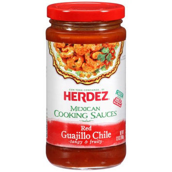 Herdez Red Guajillo Chile Cooking Sauce, 12 OZ (Pack of 6)