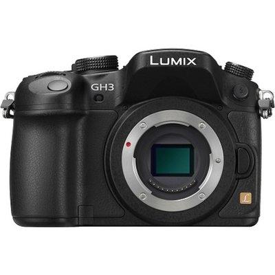 Panasonic Lumix DMC-GH3 Micro Four Thirds Digital Camera Body (Black)