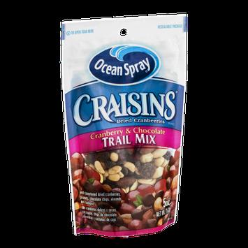 Ocean Spray Craisins Trail Mix Cranberry & Chocolate