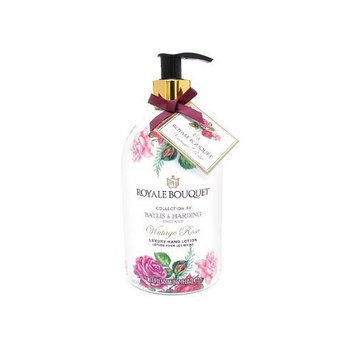 Baylis Harding Baylis & Harding Royale Bouquet Vintage Rose Luxury Hand Lotion 16.9 Fl.Oz. From England