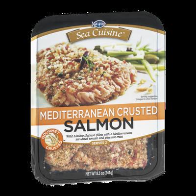 Sea Cuisine Mediterranean Crusted Salmon