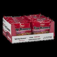 Nissin Top Ramen Beef Flavor - 12 CT