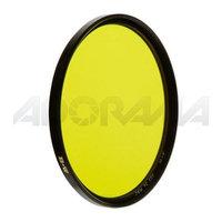 B + W 77mm #022 Multi Coated Glass Filter - Medium Yellow #8