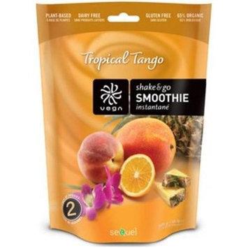 Sequel Vega Whole Food Shake & Go Smoothie - Tropical Tango - 300g - Powder