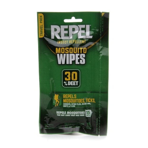 Repel Insect lent Mosquito Wipes 30% DEET