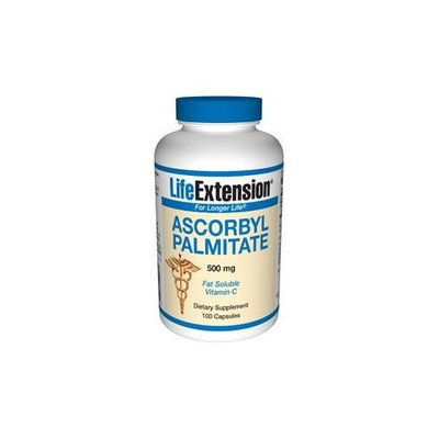 Ascorbyl Palmitate 500mg Life Extension 100 Caps
