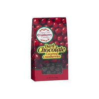 Cape Cod Candy Dark Chocolate Covered Cranberries (Pack of 3)