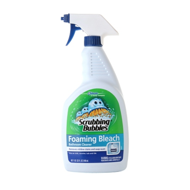 Scrubbing Bubbles Foaming Bathroom Cleaner with Bleach