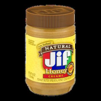 Jif Natural Peanut Butter Honey Creamy