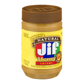 Jif Natural Peanut Butter Honey Creamy