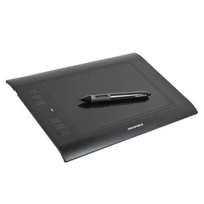Monoprice 8 x 5-inch Graphic Drawing Tablet (4000 LPI, 200 RPS, 2048 Levels)