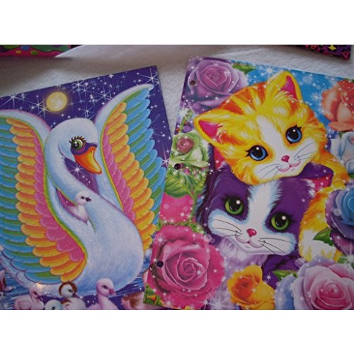 Lisa Frank 2-Pocket Folders, Pack of 2