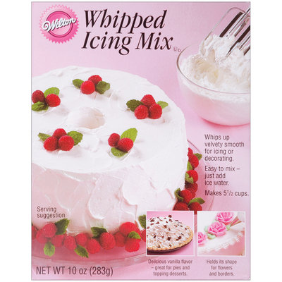Wilton Whipped Icing Mix 10 Ounces Vanilla